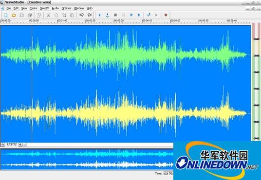 下载:创新WaveStudio音乐编辑软件7.14.00Beta版
