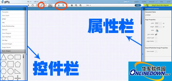 推薦在線制作流程圖工具:gliffy