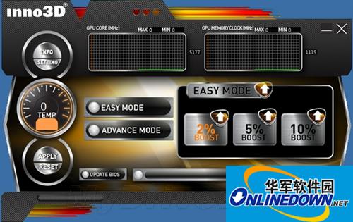 [超频]Inno3D显卡超频鸿运国际娱乐TuneIT 3.0
