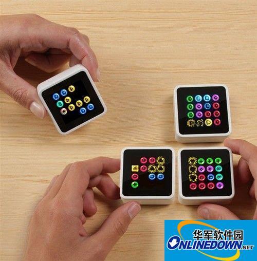 新玩具时代!sifteo数字方块游戏机