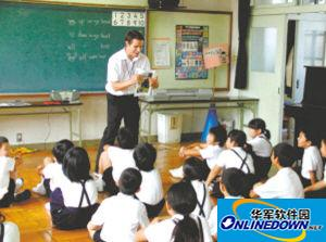 日本小学学英语 从五年级提前到三年级(图)