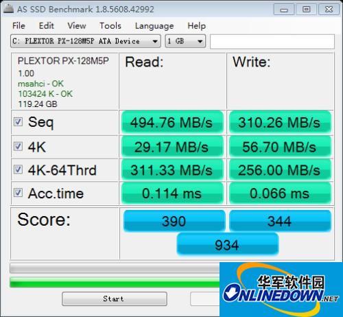 固態測試軟件AS SSD Benchmark更新到1.8版本