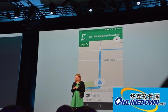 谷歌地图更新:可下载离线包语音导航