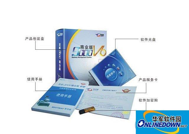 智百威9000V6商业管理软件单机版1800元