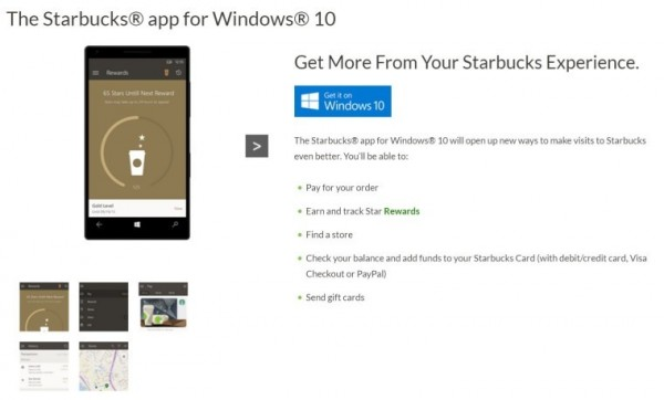 震惊:星巴克针对Windows专门研发百胜线上娱乐