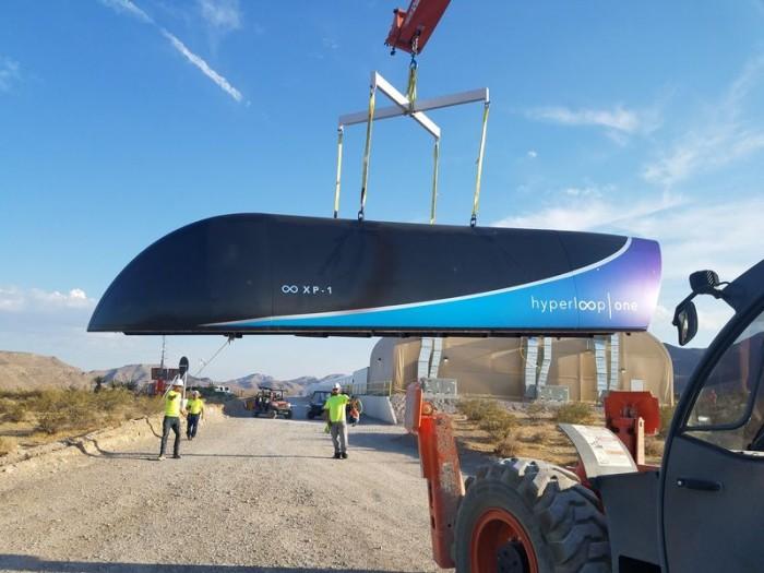 Hyperloop One完成首次全系統超高速運輸系統測試