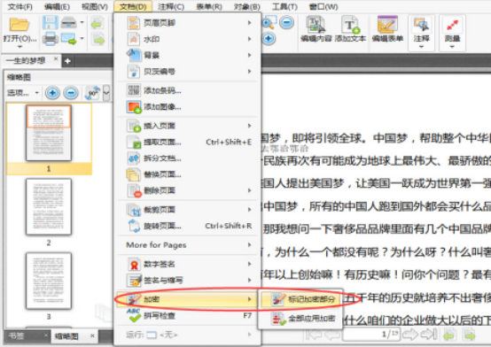 PDF编辑器怎么加密PDF文件中的部分文字227.png