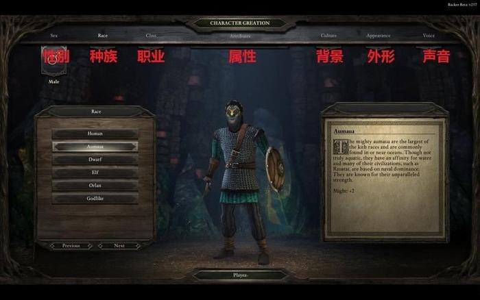 永恒之柱图游戏界面介绍(1)