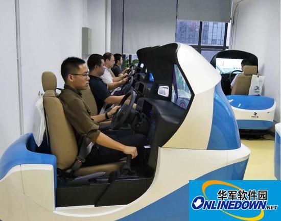 睿航汽车模拟驾驶器进驻东周考场,助力提升新规合格率