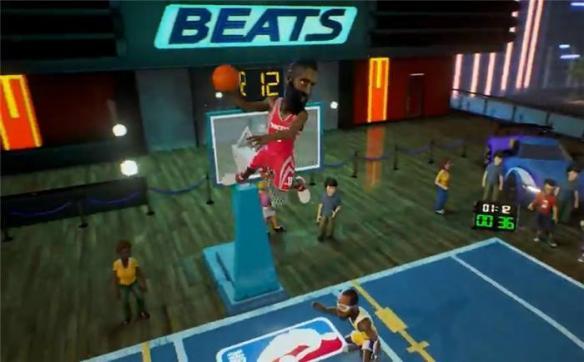 NBA游乐场防守小技巧