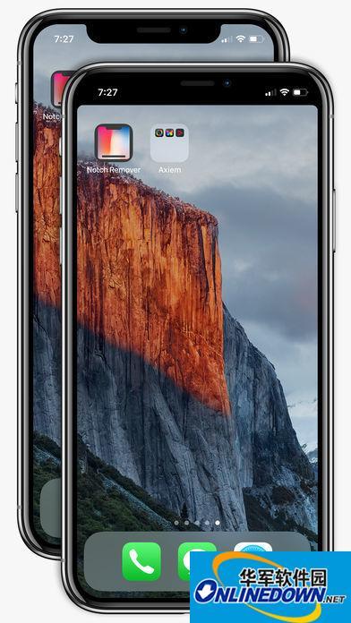 苹果应用商店现给iPhoneX去刘海软件 效果不太好