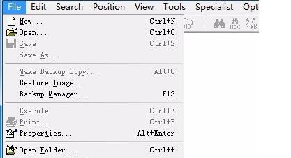 WinHex对文件的合并和分割方法教程