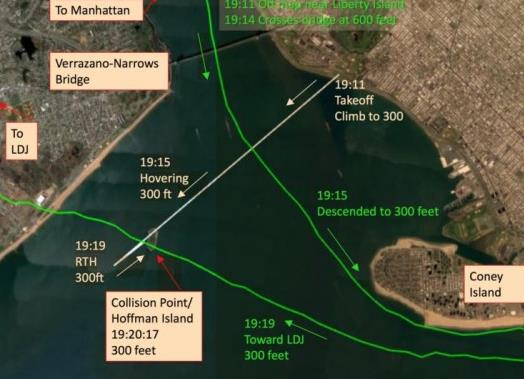 大疆无人机纽约上空与美军直升机相撞 无人员伤亡