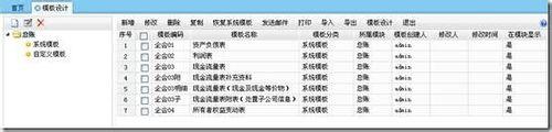 用友软件T+ T-UFO生成财务报表