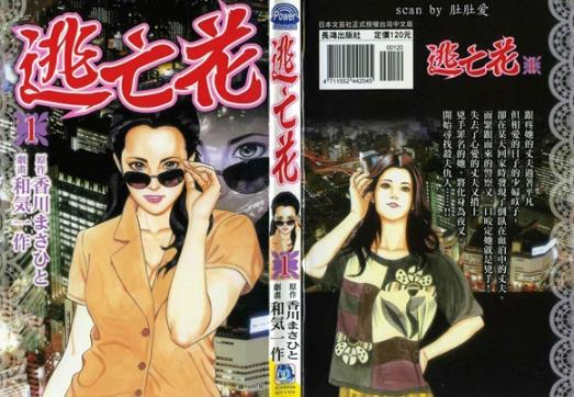 苍井空出演日本漫画《逃亡花》真人版女主角