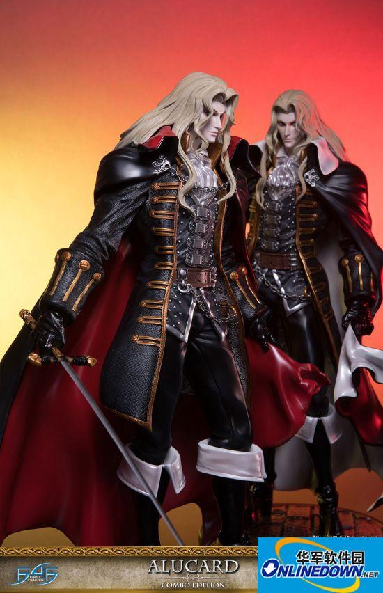 《恶魔城X:月下夜想曲》阿鲁卡多雕像惊艳开售 真空之刃帅到炸裂