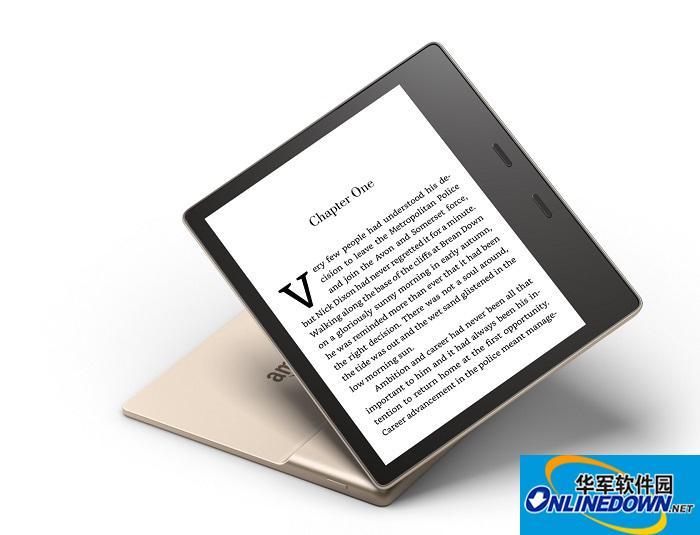 亚马逊推出香槟金版 Kindle Oasis 电子书阅读器
