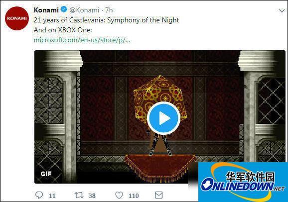 《恶魔城:月下夜想曲》21周年官推被怼 玩家要NS!