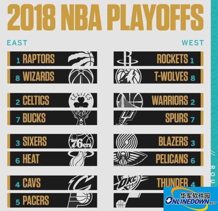 NBA季后赛对阵 NBA季后赛时间表 NBA季后赛视频直播 NBA季后赛视频直播地址