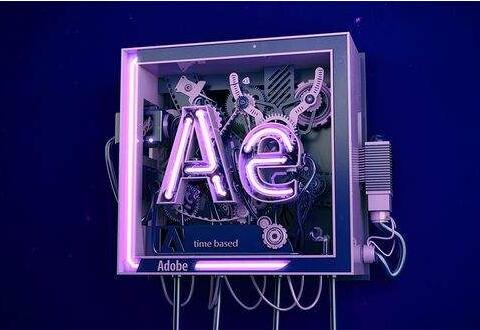 Adobe After Effects将矩形变成圆环的操作流程