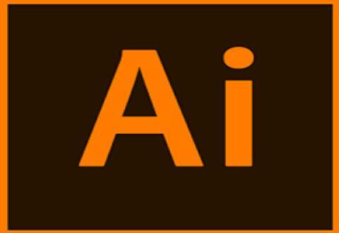 AI设计电话长投影效果图标的详细操作流程