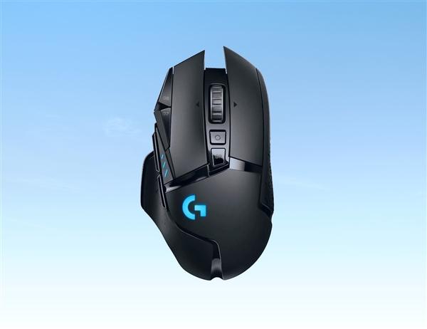 罗技无线版G502 Lightspeed发布:支持鼠标垫充电