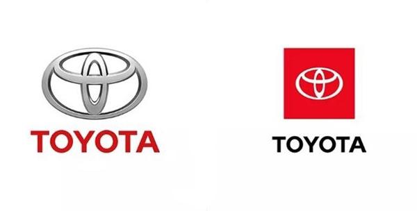 """丰田公布全新Logo:""""牛头标""""更年轻、扁平化"""