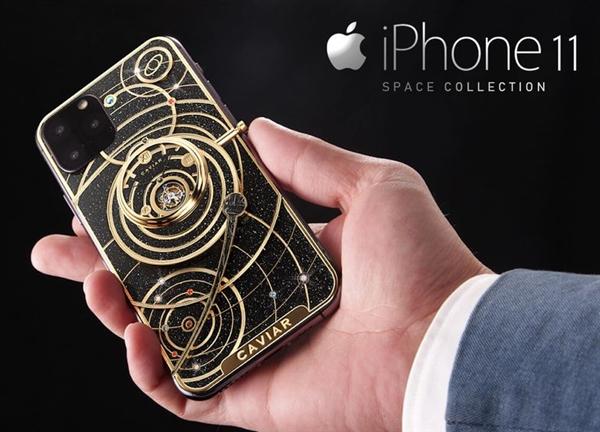 第三方制造商提前晒出iPhone 11:还是定制奢侈版