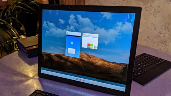 微软继续完善Windows 10X:加强手势控制能力