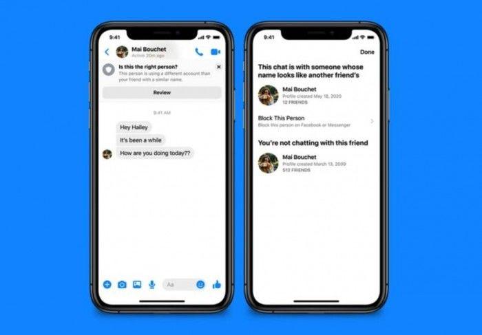 Facebook Messenger的新安全功能保护用户免受欺骗