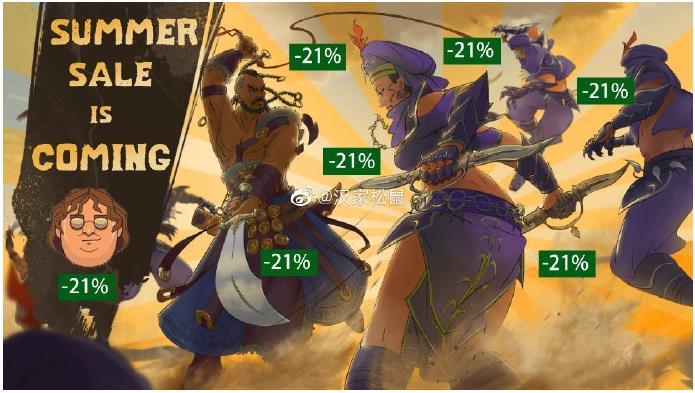 《部落与弯刀》Steam 夏促特惠:38 元,将支持多人联机