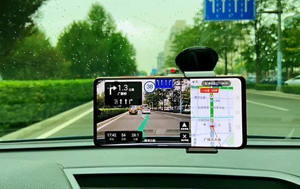高德地图上线AR驾车导航