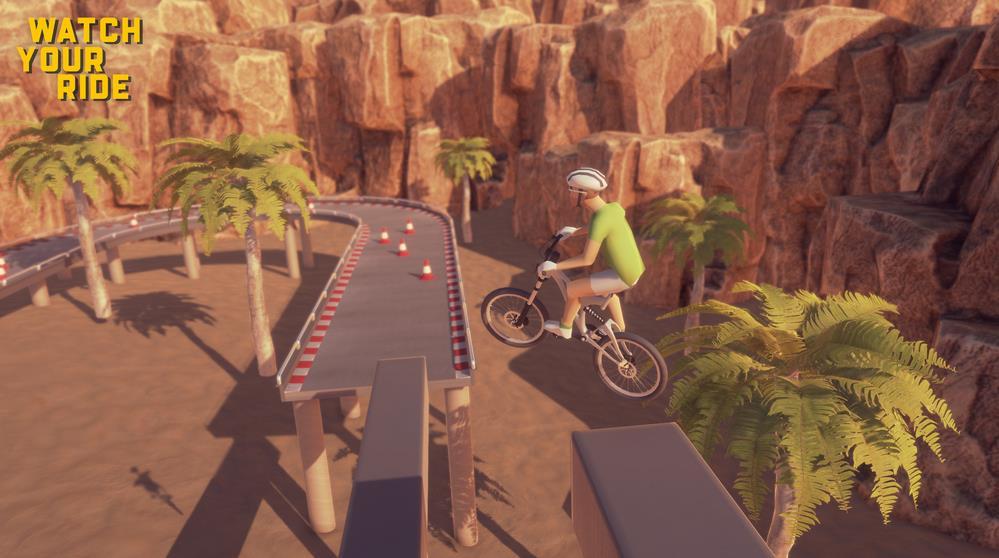 《谨慎骑行(Watch Your Ride)》上架Steam,预计2021年初发行