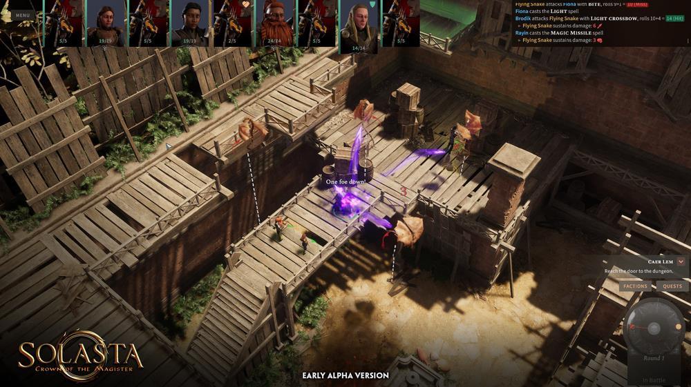 《索拉斯塔:魔导师之冠》抢先体验版上线Steam,降价15%