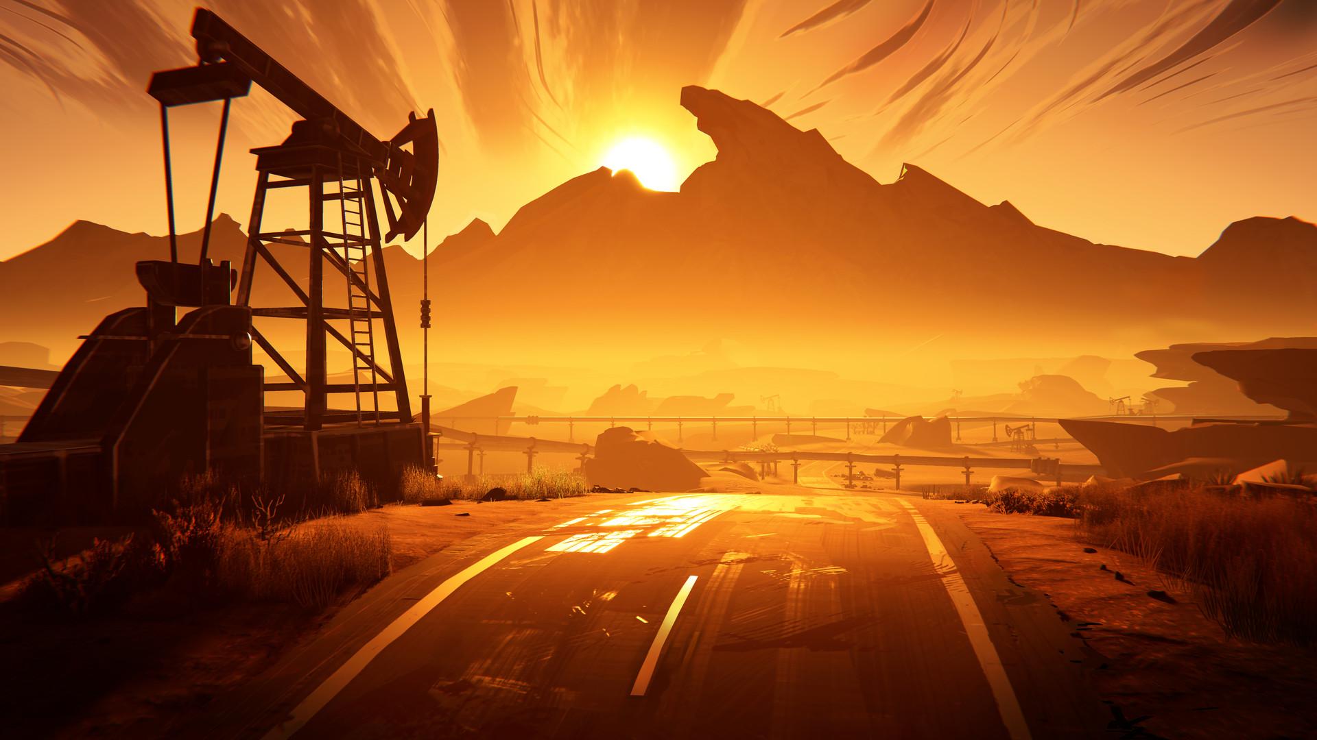 冒险游戏《九十六号公路》上架Steam