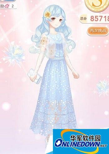奇迹暖暖女神蓝泡沫怎么过关