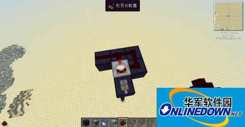 我的世界如何制作微型红石大炮 制作攻略