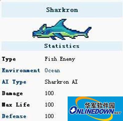 泰拉瑞亚BOSS猪鲨