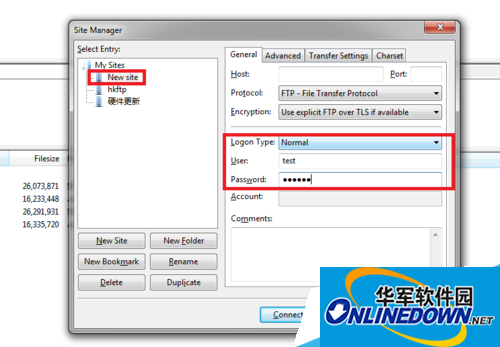 如何使用filezilla连接远程服务器