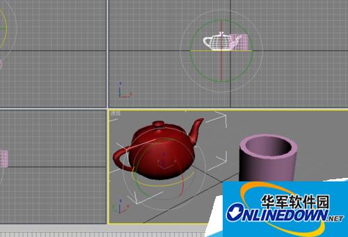 3DMAX缩放区域怎么用
