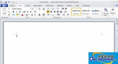 Word 2010截图