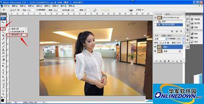 photoshop图片背景虚化教程
