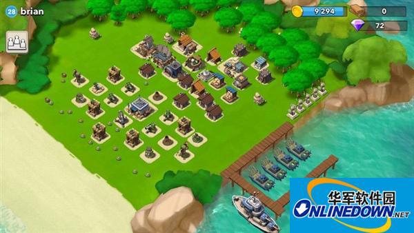 海岛奇兵建筑布局之地雷封锁海滩
