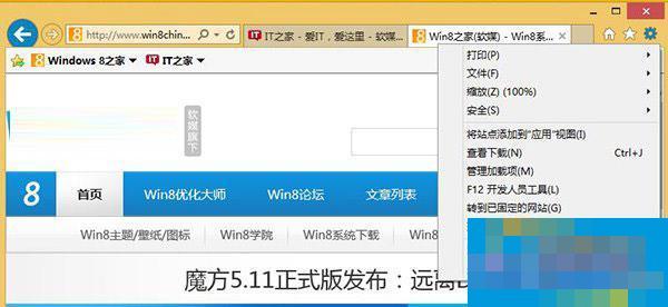 Win8.1 Modern IE11闪退怎么办