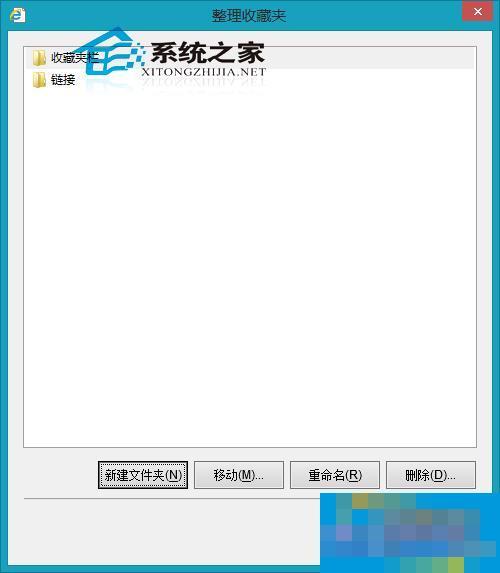Win8系统IE10如何整理收藏夹