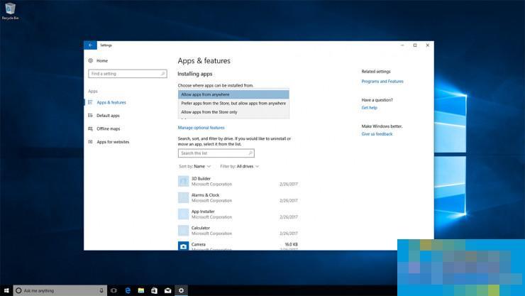 Windows 10要像苹果一样让你只安装应用商店的软件,但这是个好事