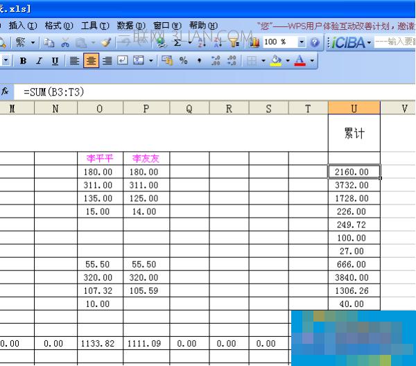 WPS表格制作专业工资表教程