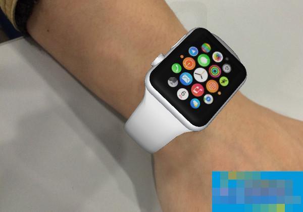 增强现实新作!ARWatch让你免费戴上Apple Watch
