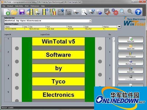 泰科电子发布新版线缆标识标签打印软件