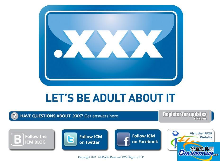 .XXX域名注册第1天反应过火 5万个域名被抢注